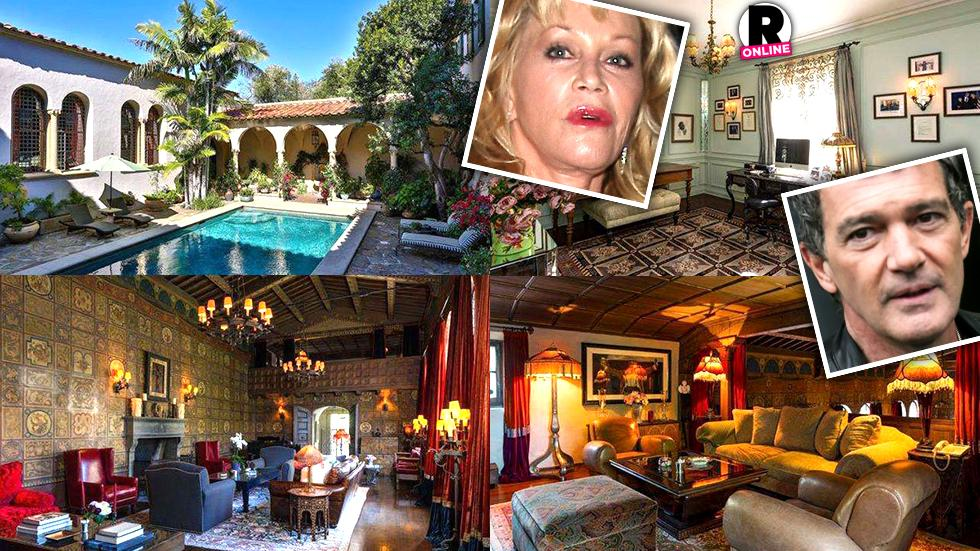 Melanie Griffith Antonio Banderas Divorce Selling Los Angeles House