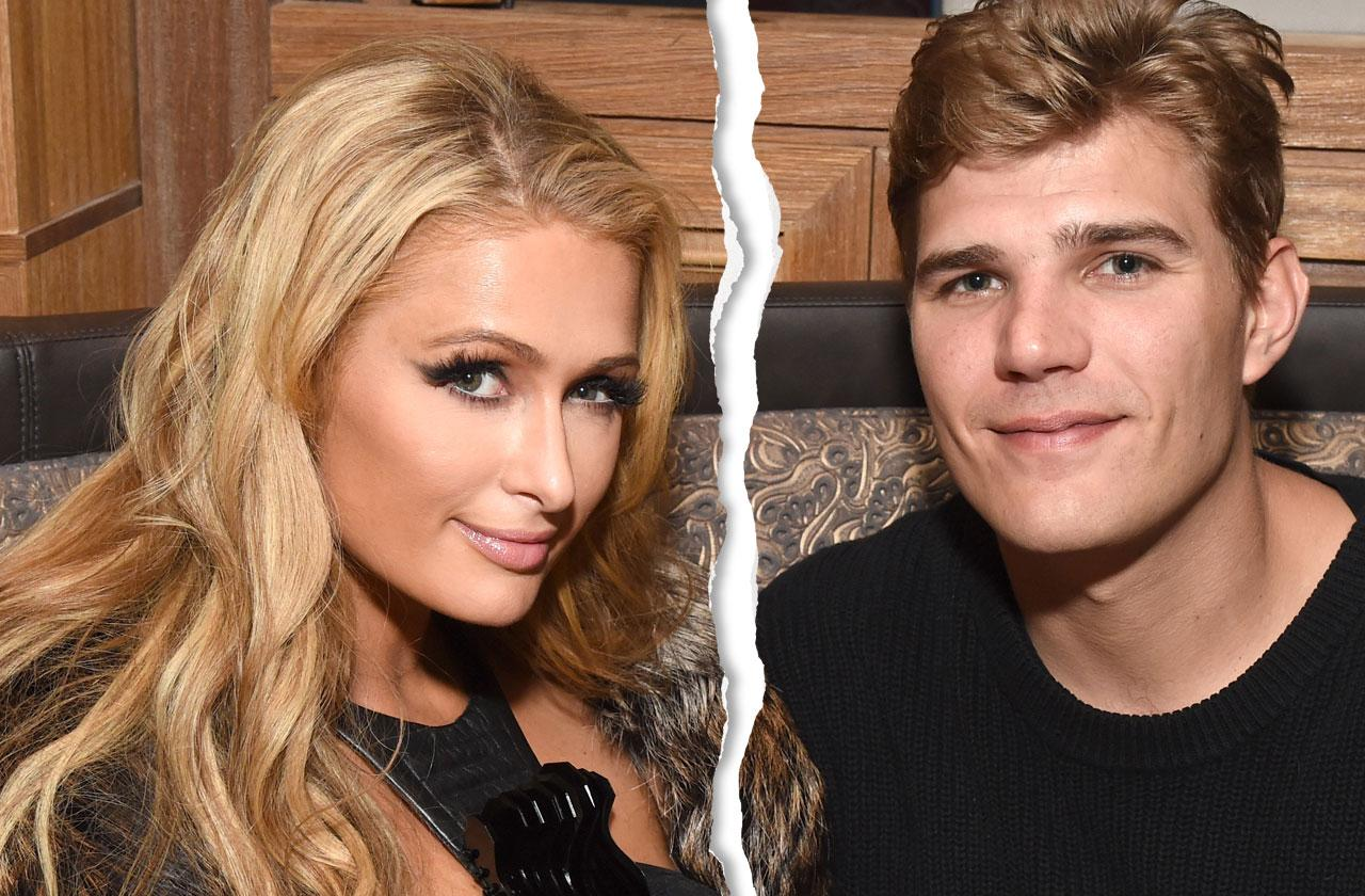 Paris Hilton Fiance Chris Zylka Split
