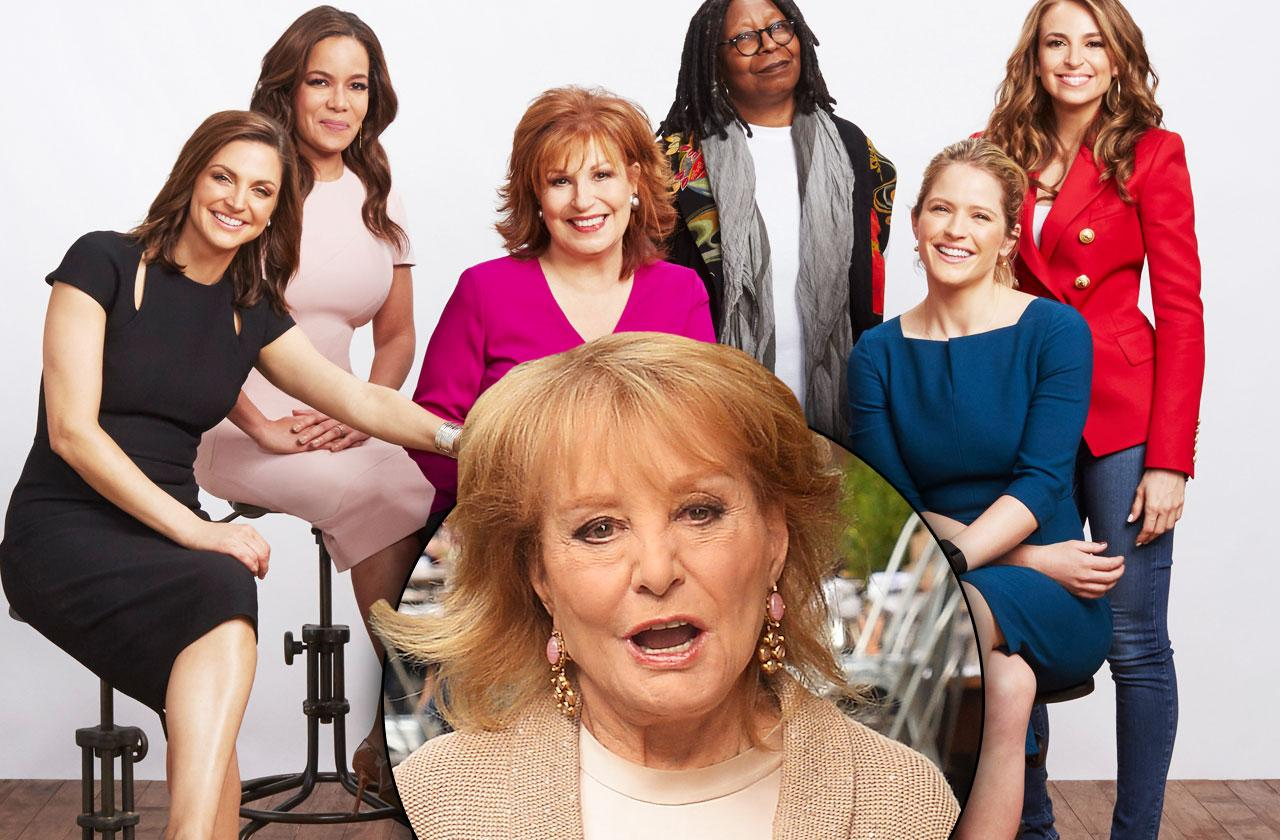 //barbara walters health scare heart problems view snub pp