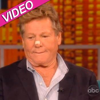 //ryan oneal battles cancer the view