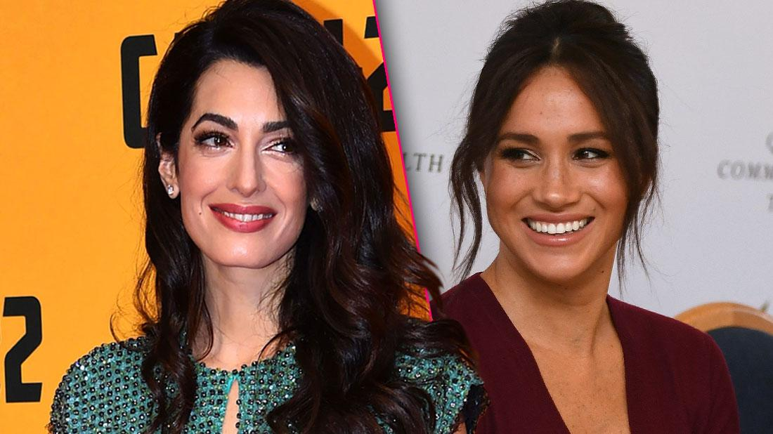 //Amal Clooney Obsessed With Meghan Markle pp