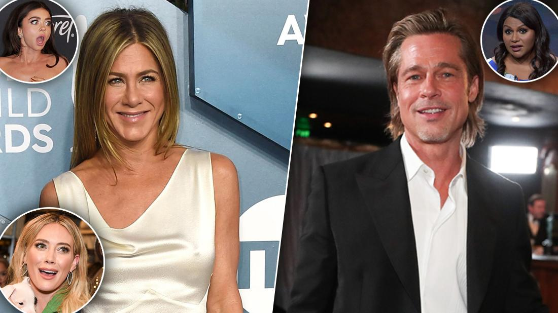 Celebrities Who Reacted To Jennifer Aniston & Brad Pitt's Reunion