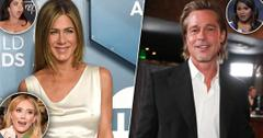 Celebrities Who Reacted To Jennifer Aniston & Brad Pitt's Reunion