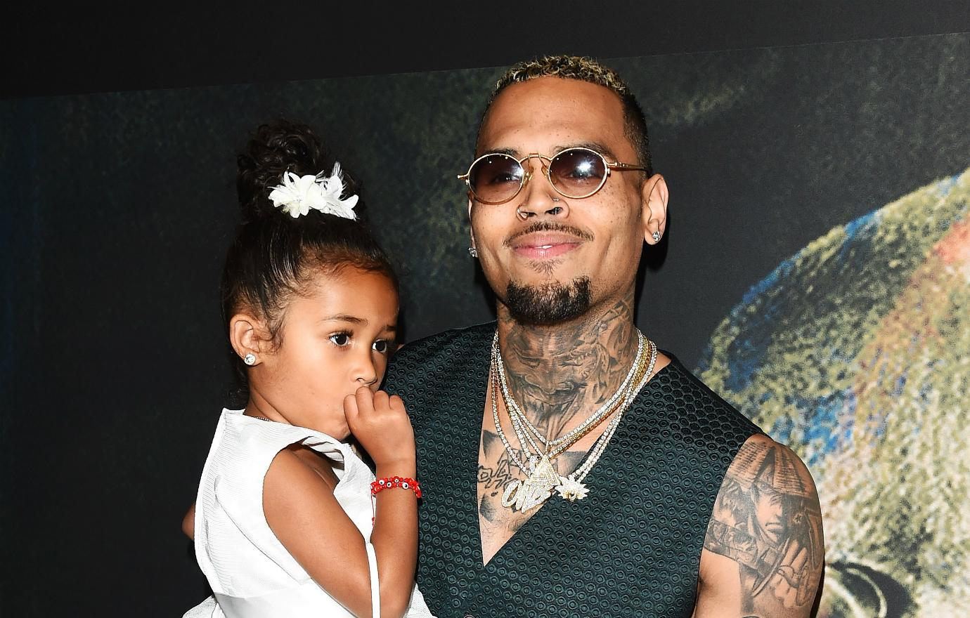 Chris Brown kept his daughter, Royalty, a secret for some time. But now, he is everywhere with her.