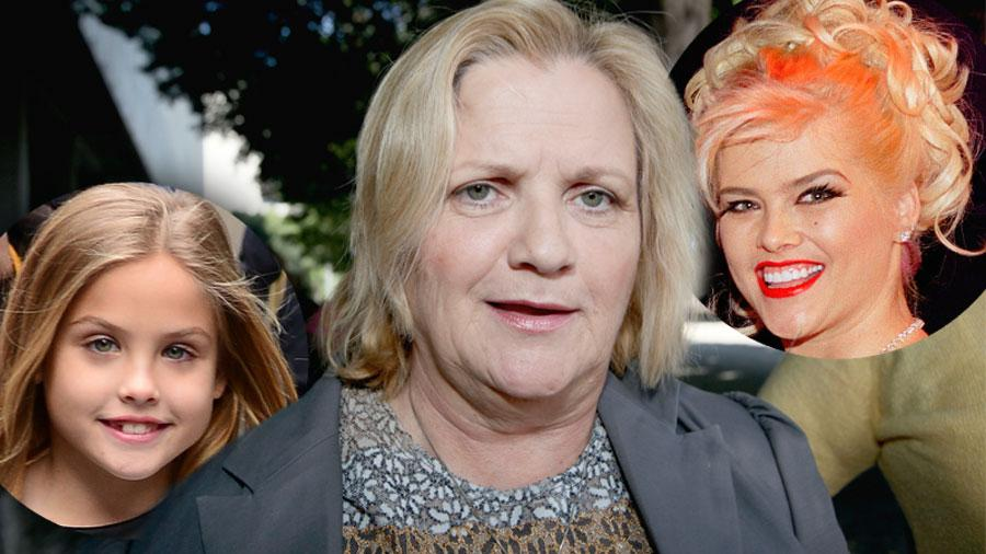 Anna Nicole Smith Mother Dying Wish