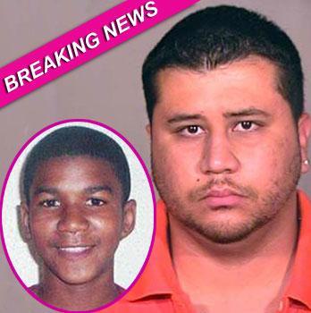 //george zimmerman charges trayvon martin murder