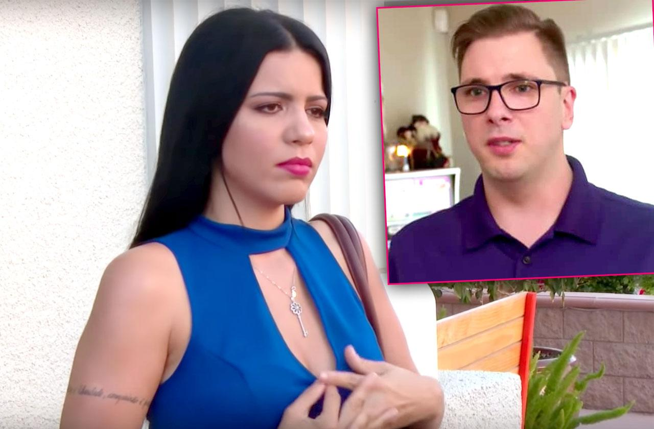 larissa dos santos lima slams colt Johnson fighting cancel green card 90 day fiance