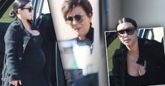Lamar Odom Hospitalized -- Kim Kardashian Kris Jenner Arrives At Sunrise Hospital In Las Vegas