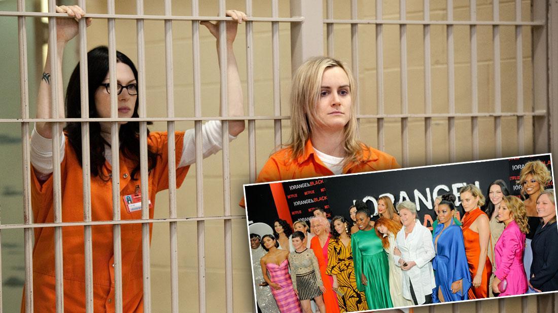 'Orange Is The New Black' Stars: On Set Vs. Glam