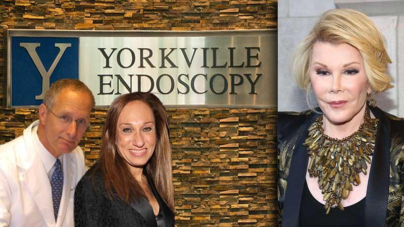 //joan rivers yorkville endoscopy