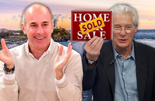 Matt Lauer Buys Richard Gere's Hamptons Home