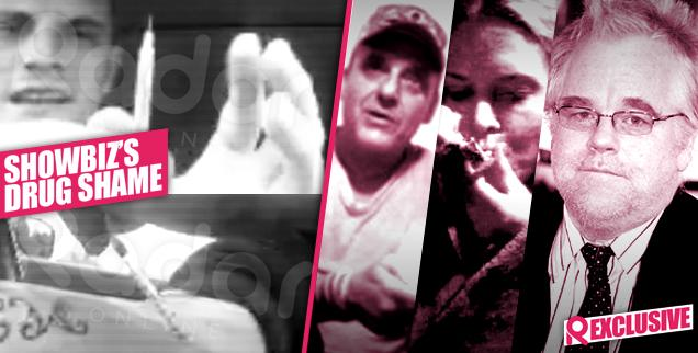 //courtland rogers jenelle evans ex shoots up heroin video phillip seymour hoffman drugs  wide