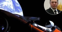 //Elon Musk TESLA Car In Space live video pp