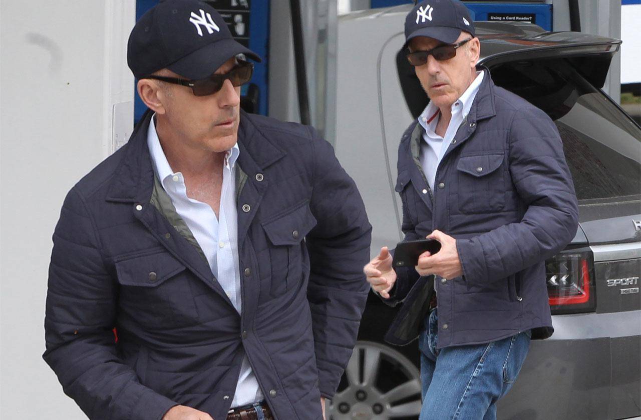 Matt Lauer – Former 'Today' Show Host Hides Out In Hamptons