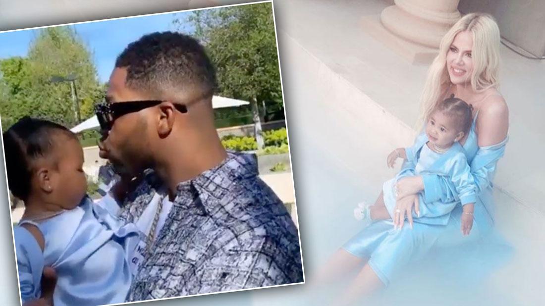Tristan Thompson Spends True's Birthday With Khloe Kardashian