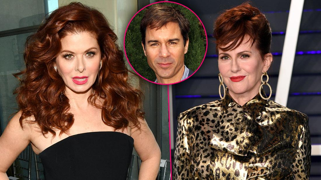 Eric McCormack Attempts Peace Talks With Feuding Debra Messing & Megan Mullally