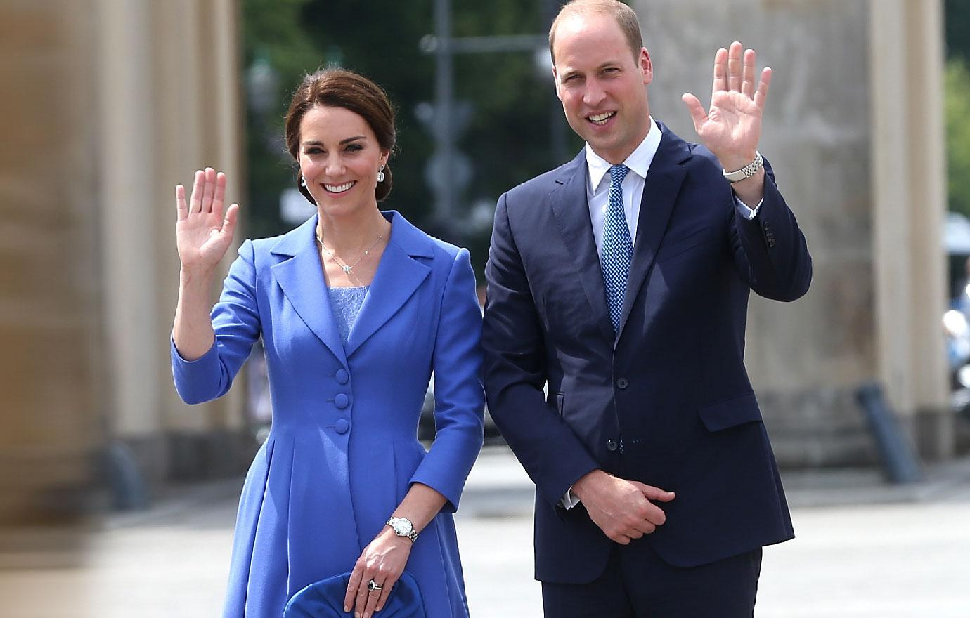 Kate Middleton Prince William Pregnant Baby Number Three