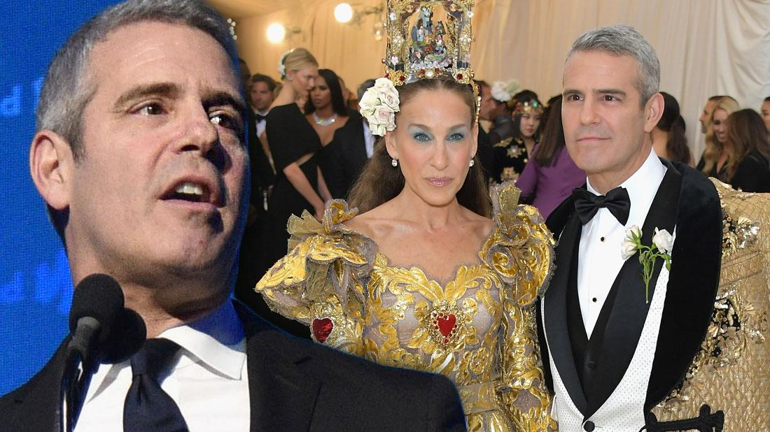 Andy Cohen Not Invited To Met Gala Without Sarah Jessica Parker