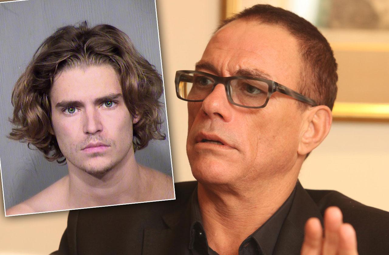 //Jean Claude Van Damme Son Nicholas Assault arrest documents pp