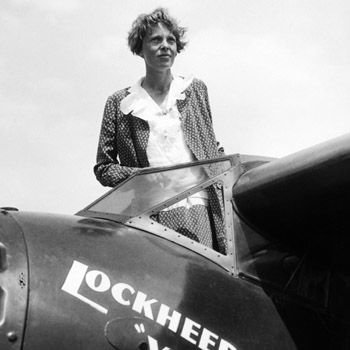//amelia earhart search plane