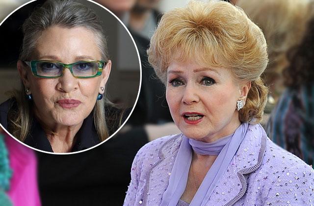 Carrie Fisher Death Debbie Reynolds Concerns