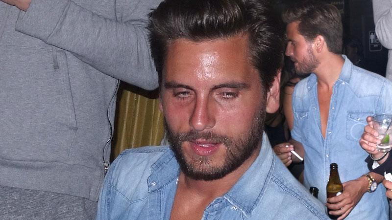 //scott disick parties too much in hamptons