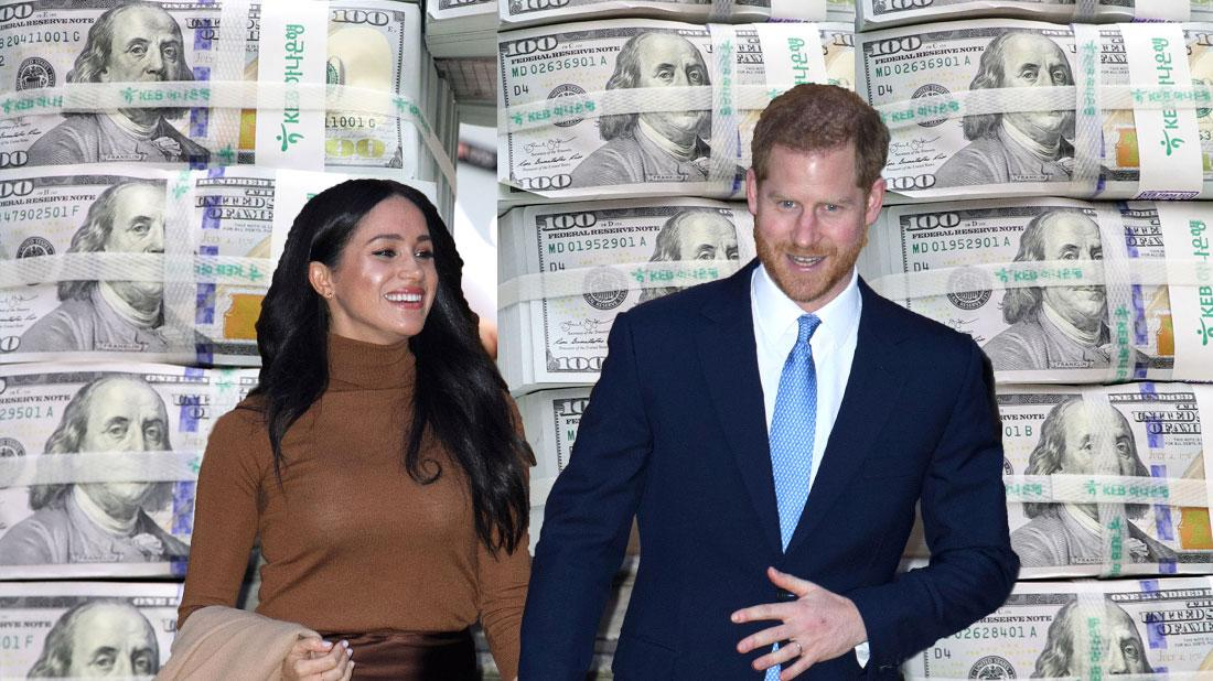 Meghan Markle & Prince Harry Expecting Millions From Deals
