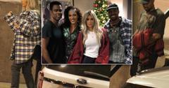 Kim Kardashain And Kanye West Watch Chris Rock Perform