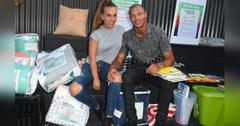 Chloe Green And Jeremy Meeks PDA At Hurricane Harvey Fundraiser