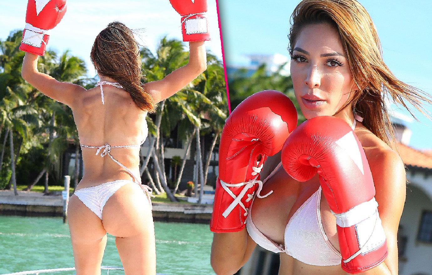 Farrah Abraham Threatened With Lawsuit Over Boxing Match