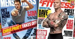 //chris pratt dave bautista mens fitness muscle fitness pp