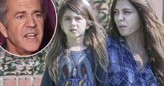 Mel Gibson Oksana Grigorieva Split Kids Lucia Grown Up Pics
