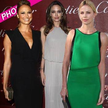 //palm springs film festival stacy keibler angelina jolie charlize theron