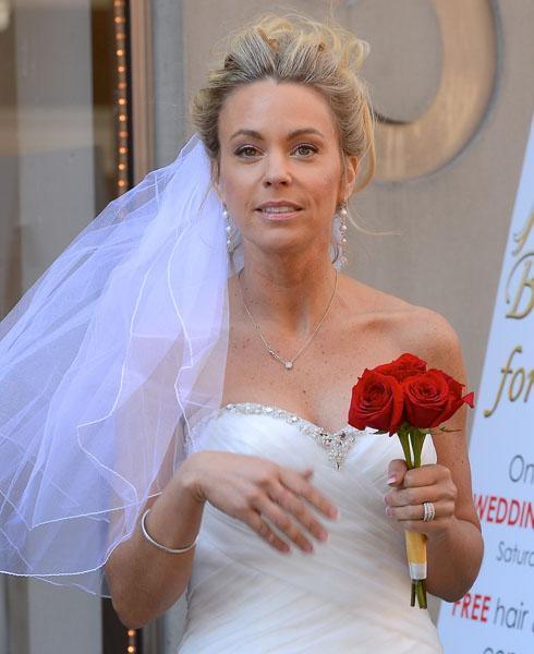 Kate Gosselin Wedding Dress Celebrity Apprentice