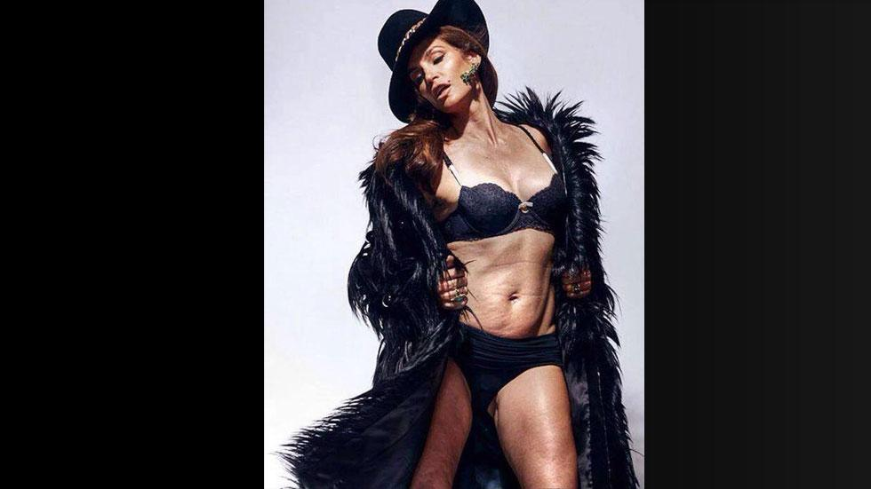 Cindy Crawford Photo Shows Real Body