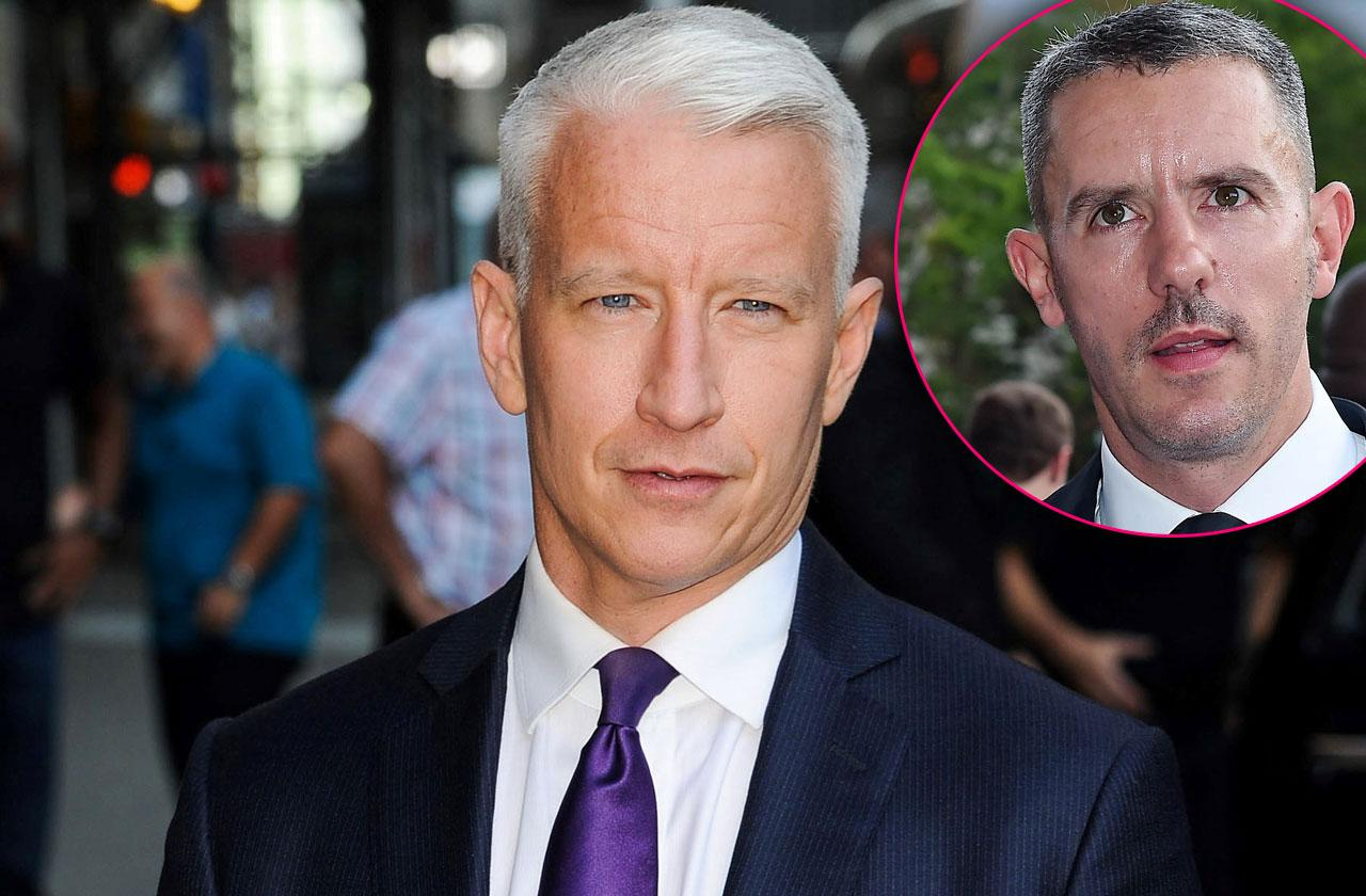 //Anderson cooper boyfriend split cheated doctor pp