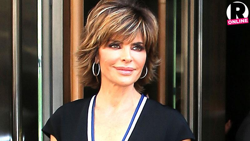 Lisa Rinna Filming Real Housewives Beverly Hills