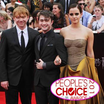 //harry potter nominations peoples chioce splash