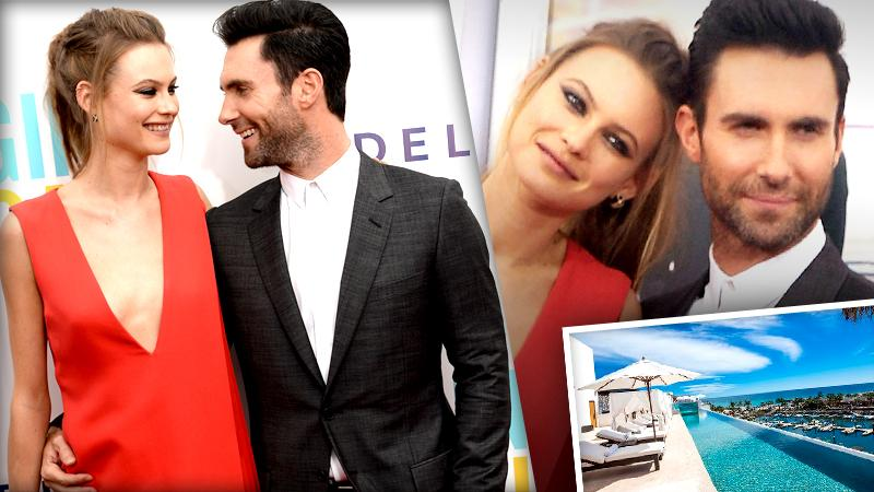//adam levine behati prinsloo performers guest revealed wedding victoria secret maroon   pp sl