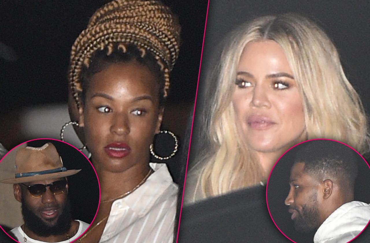 LeBron James Wife Savannah Is Not A Fan Of Khloe Kardashian Or Former Teammate Tristan Thompson