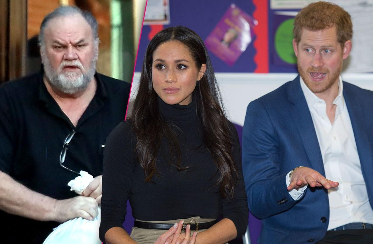 Meghan Markle Father Hurt Prince Harry Comments