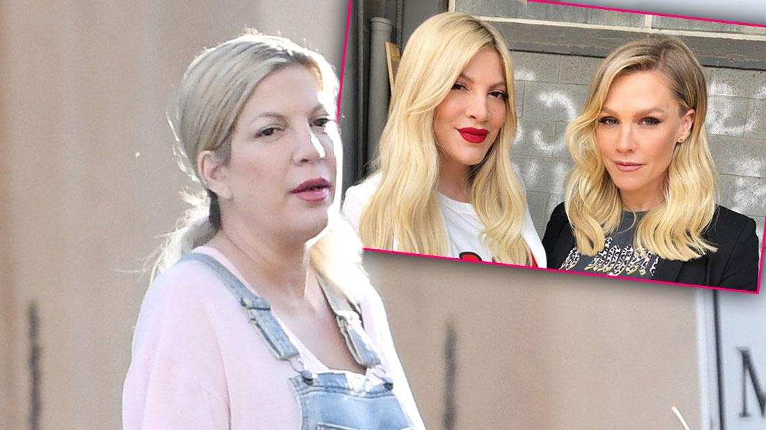 Tori Spelling In Israel After Bench Warrant Is Issued For Missing Court