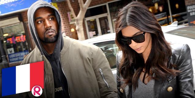 //kim kardashian kanye west live france  days marriage allowed wide