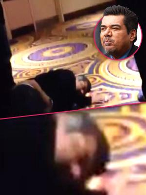 //george lopez passed out drunk canadian casino arrested  tall