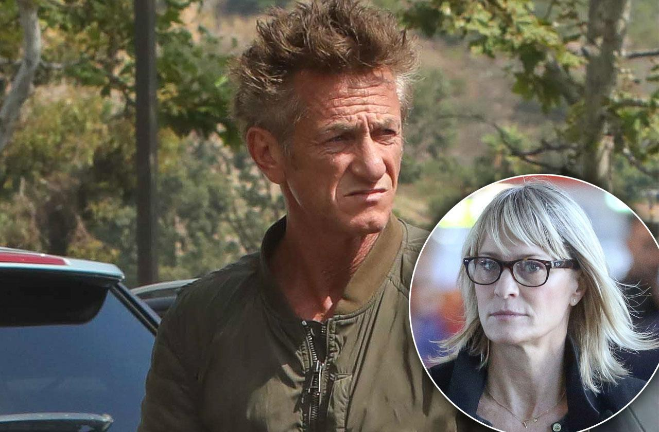 Sean Penn Broken Relationship Robin Wright