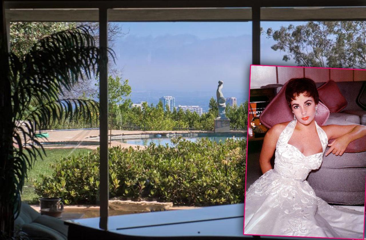Elizabeth Taylor Hollywood Estates Goes On Market For $15.9 Million
