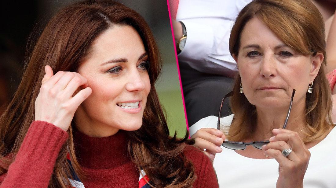 Kate Middleton Mom Carole Behaving Like Diva