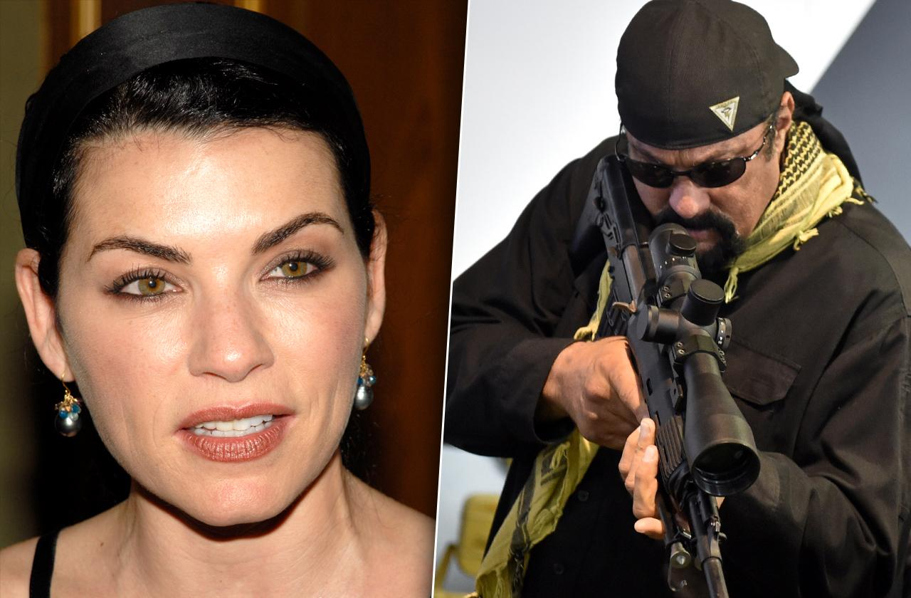 //juliana marguiles reveals scary encounter with steven seagal