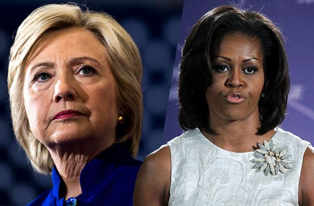 //hillary clinton michelle obama email hacked reveals schedule pp