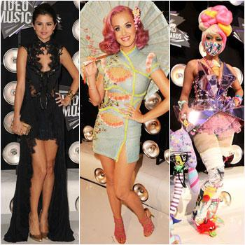 //final best worst wackiest fashions mtv video music awards